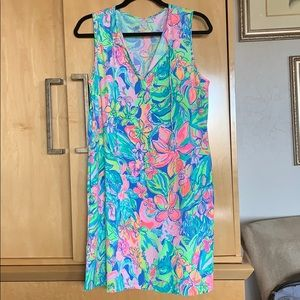 NWT Lilly Pulitzer Johana swim dress cover up